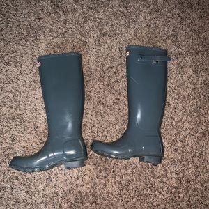 Grey Hunter Boots